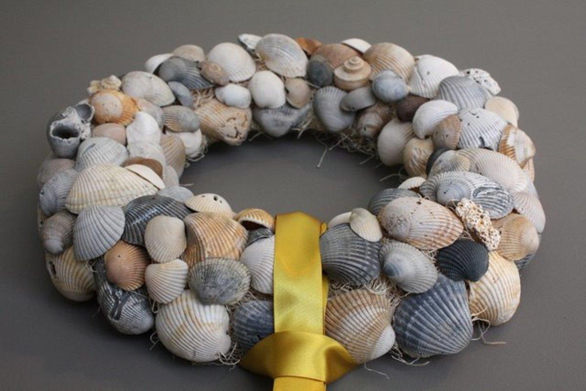 Super Simple DIY Seashell Crafts   FeltMagnet