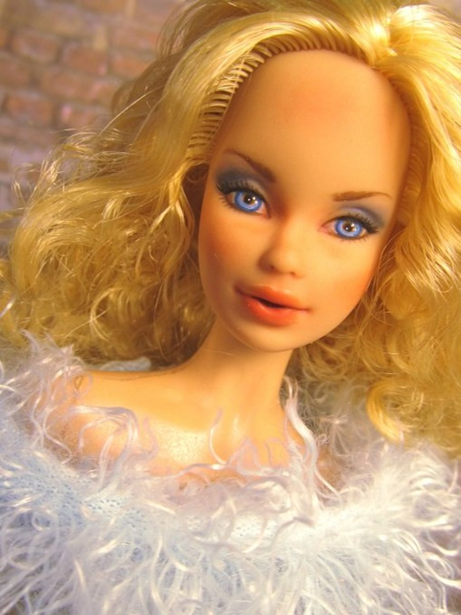Barbie Muse Repaint
