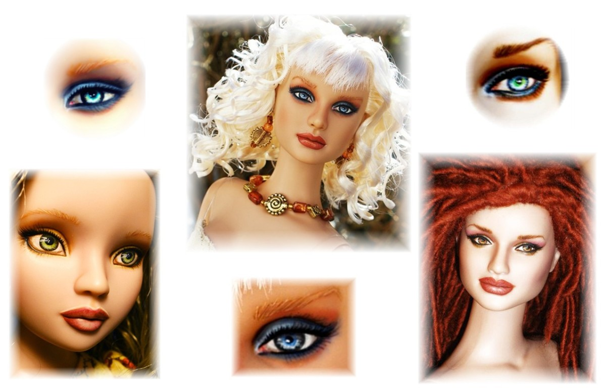 How To Repaint Barbies And Other Dolls Feltmagnet Crafts