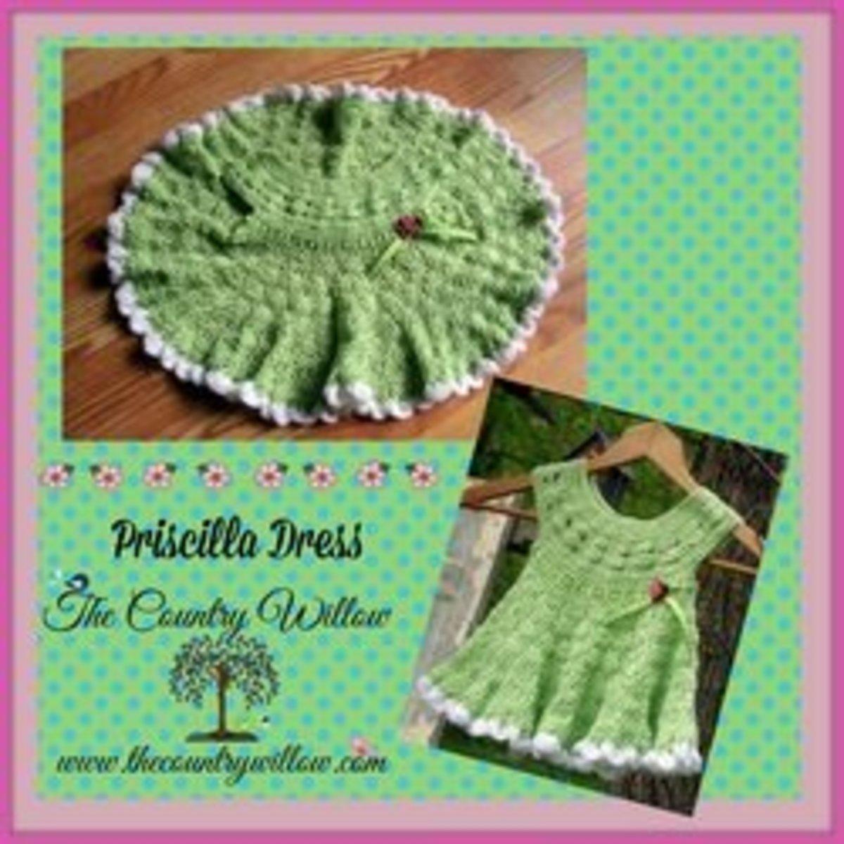 Free Crochet Patterns for Baby Dresses FeltMagnet