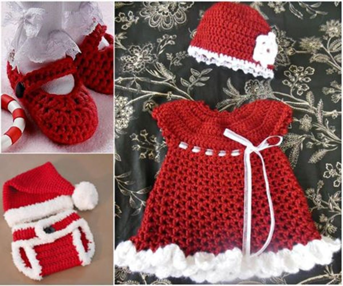 How about this little Christmas baby outfit.