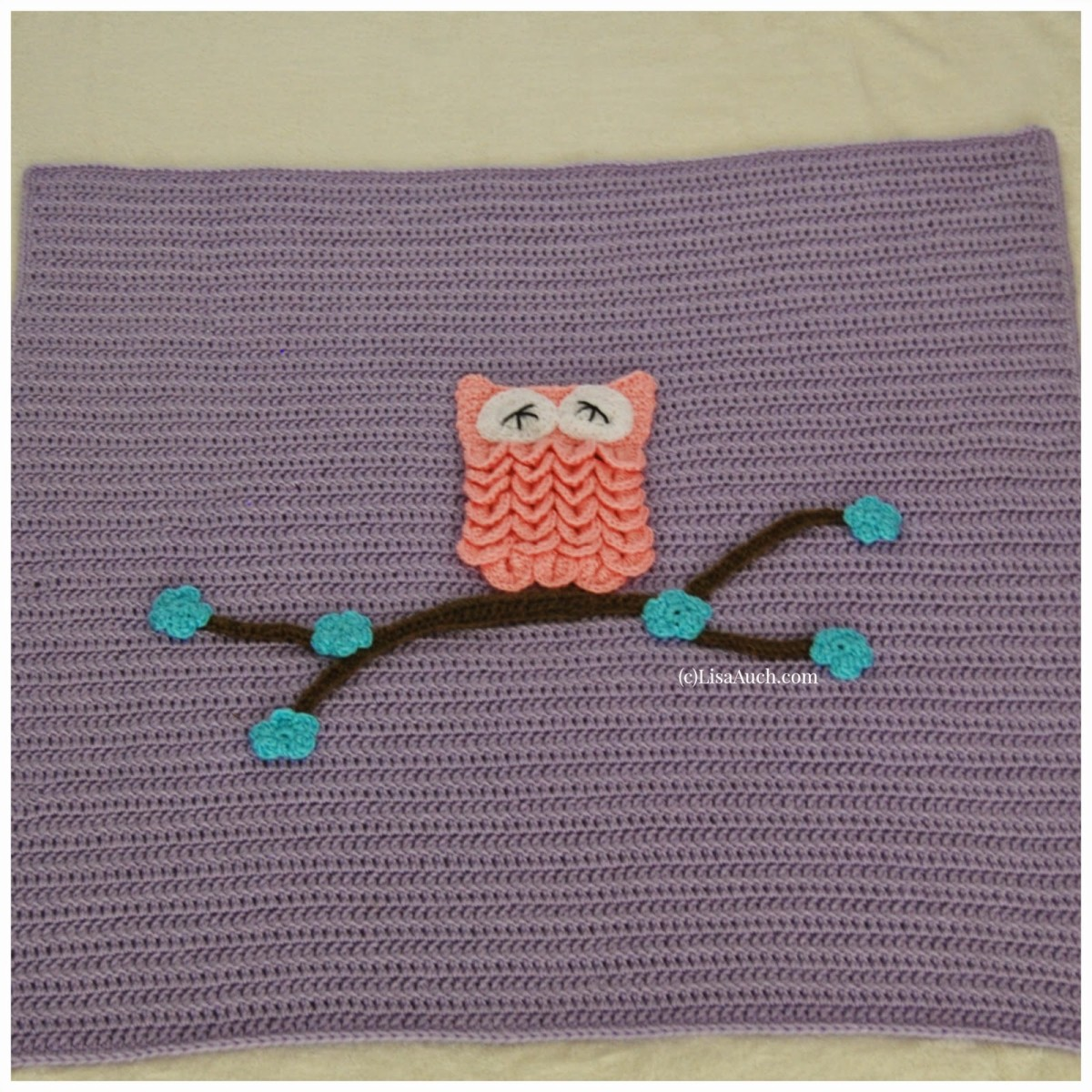 Easy Crochet Baby Blanket Tutorials : How To Crochet An Easy Baby Blanket Ideal for Beginners ...