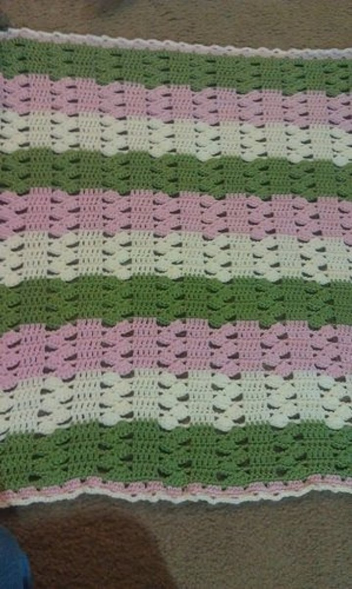 Light and Lacy Baby Blanket