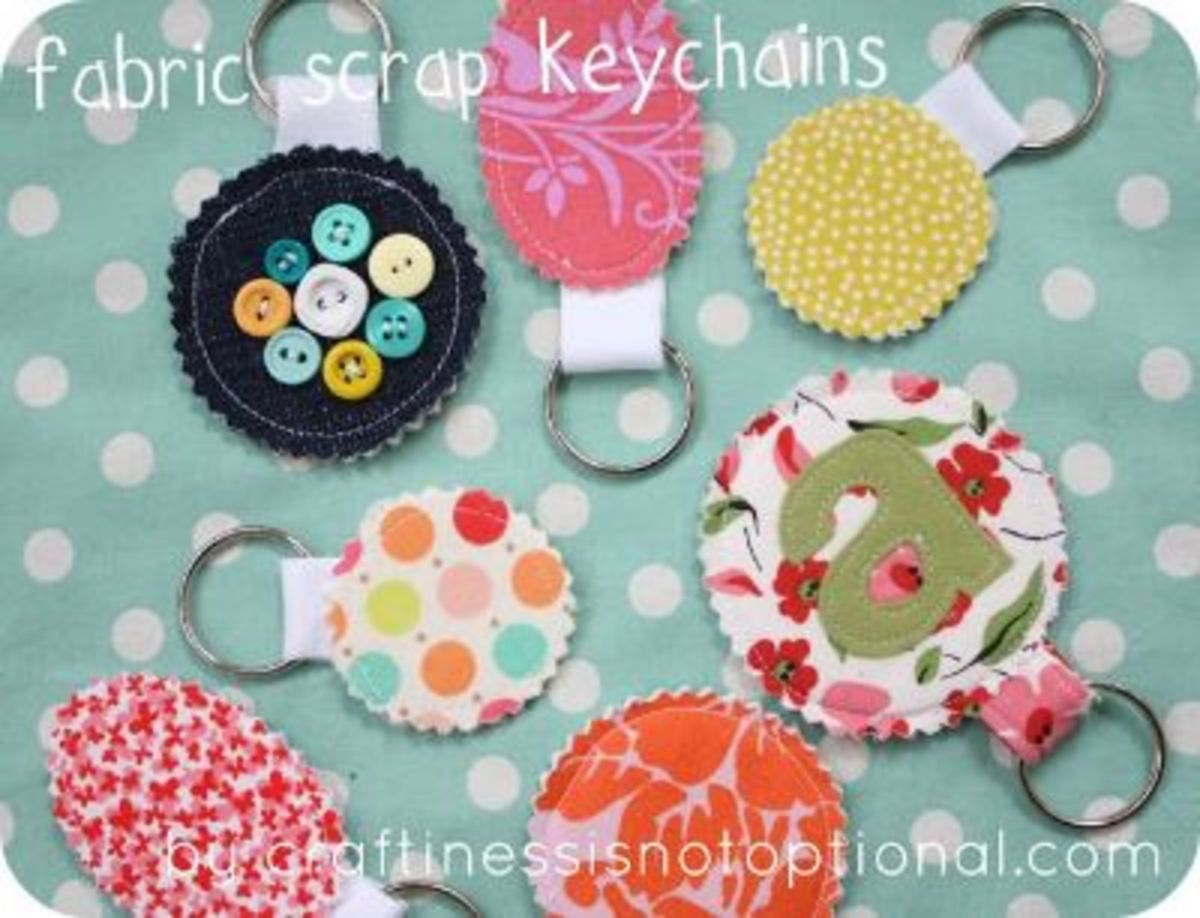 57 Creative Fabric Scraps Craft Ideas Feltmagnet Crafts