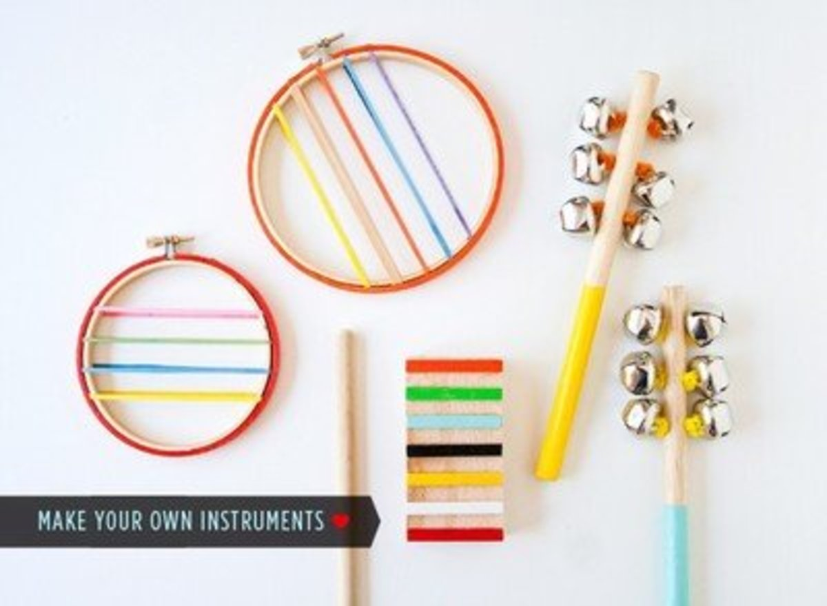 52 Homemade Musical Instruments to Make