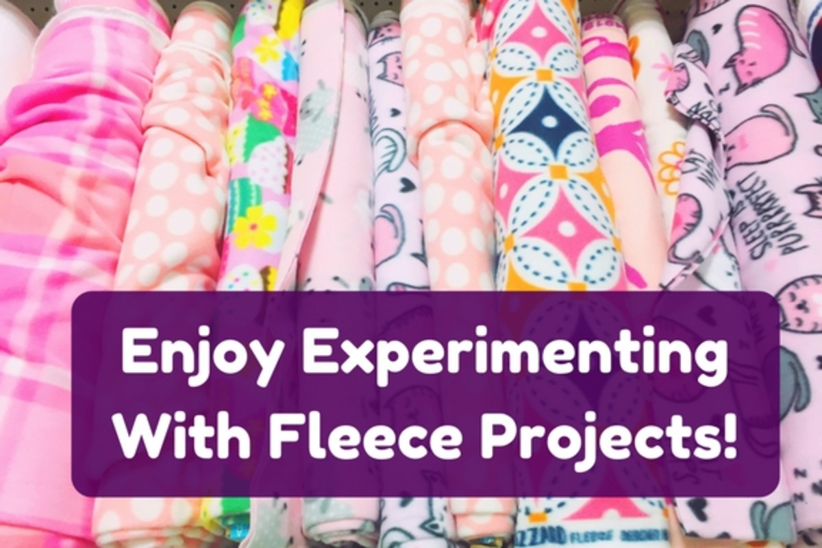 36 Incredible Fleece Craft Ideas