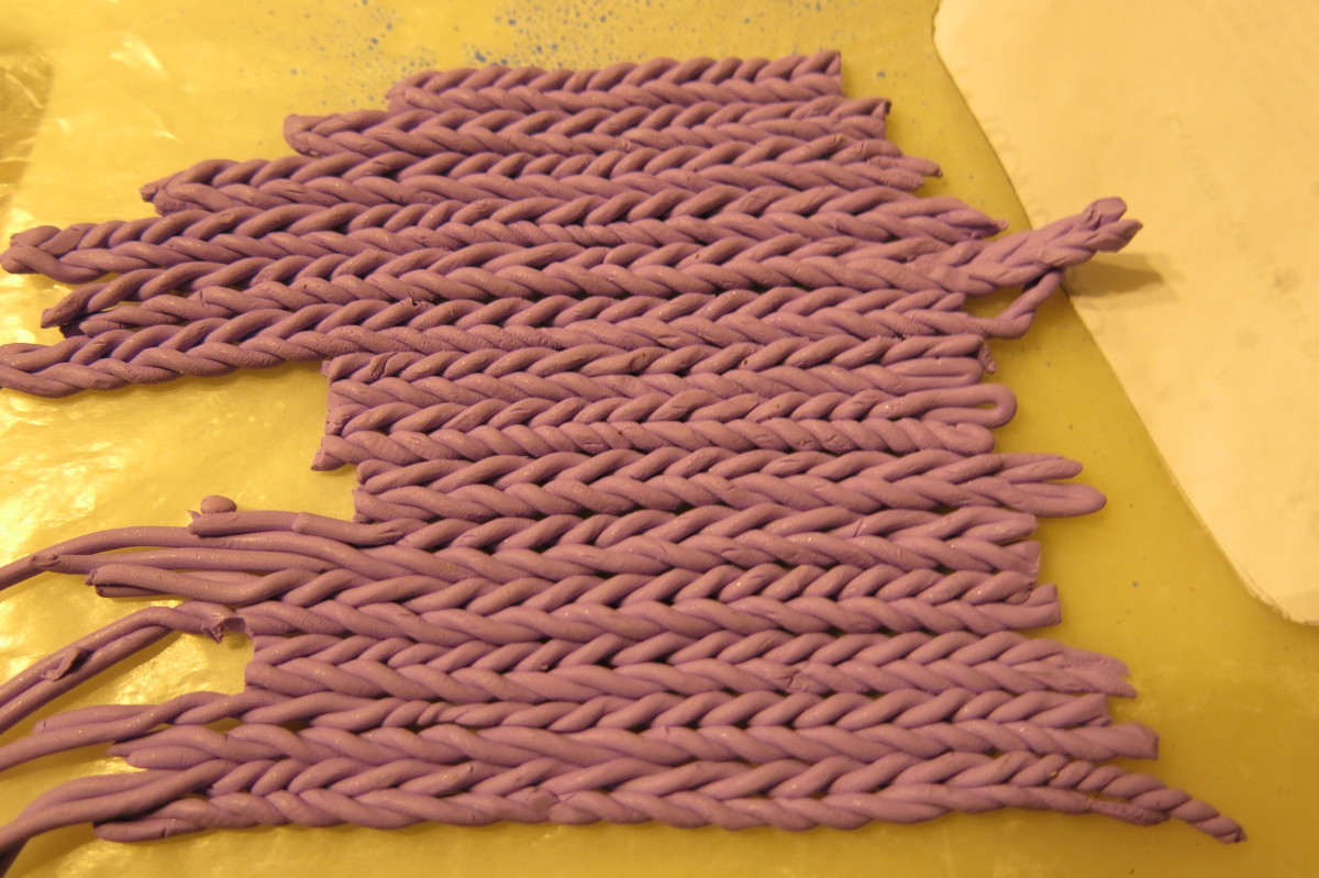 lining up your columns of knit stitches