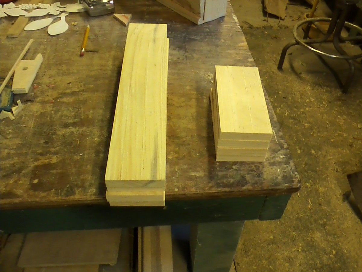 I have boards cut to do two candle boxes.