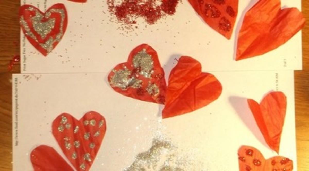 how-to-make-a-lighted-raffia-valentine-garland