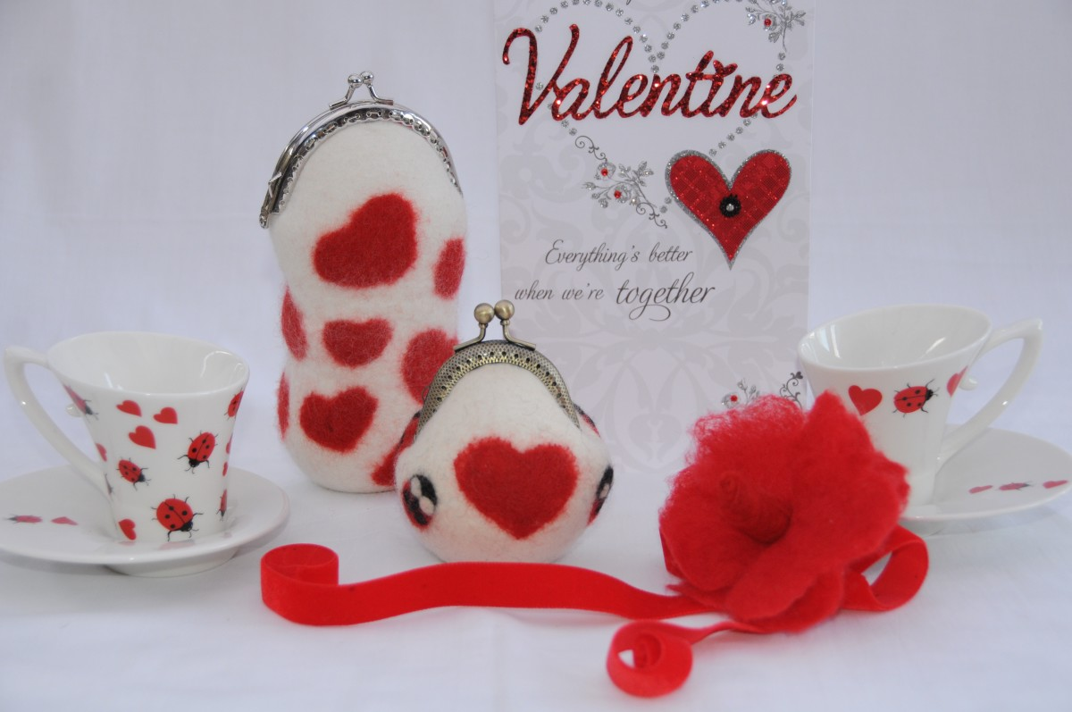 Tea for two on Valentine's Day.