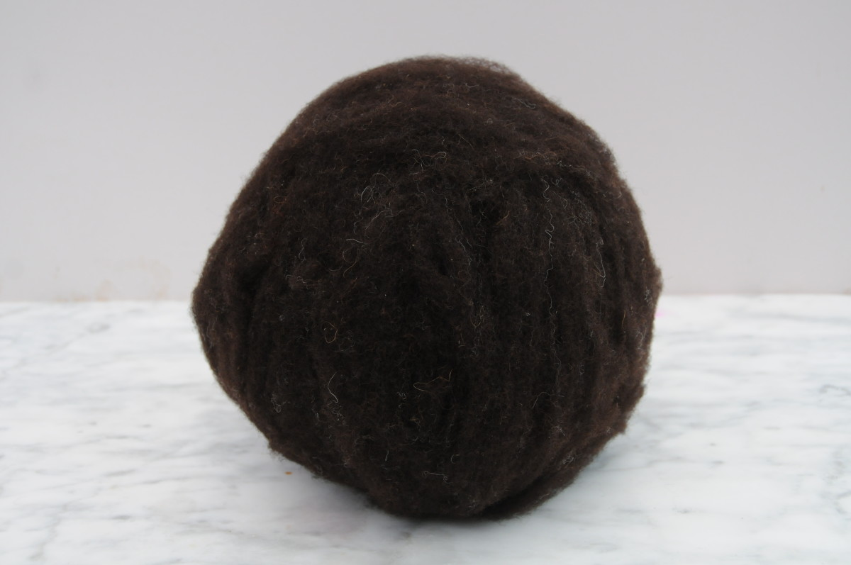 The first layer covering the ball