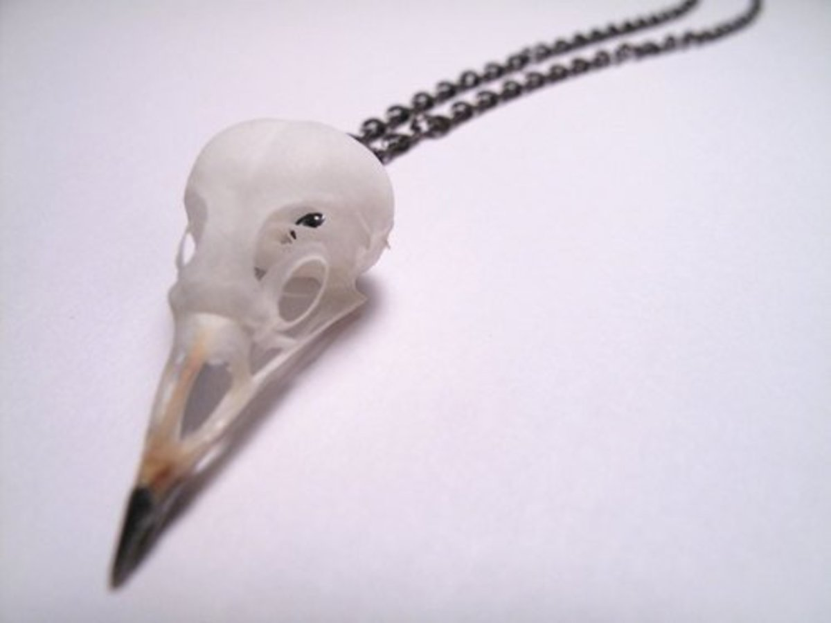 One of the hundreds of lovely works from Bone Jewelry.