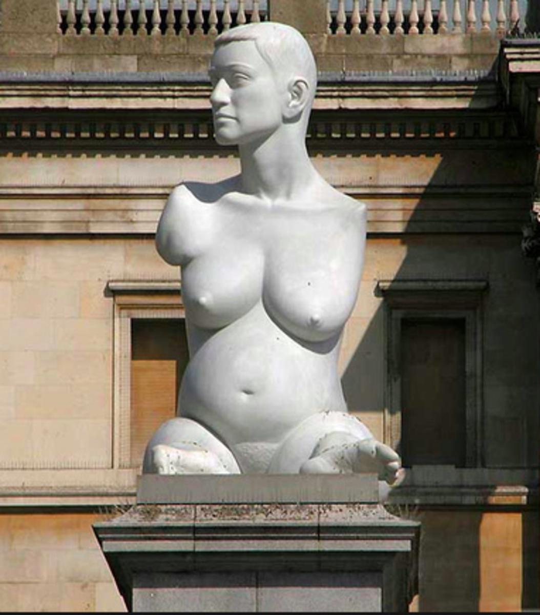 Statue of Alison Lapper by Marc Quinn
