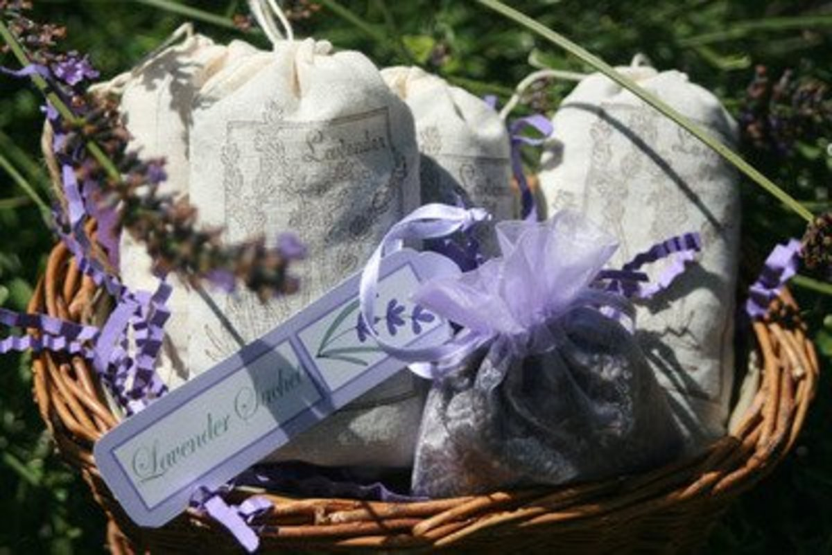 Sachet Bags and Scented Fillings