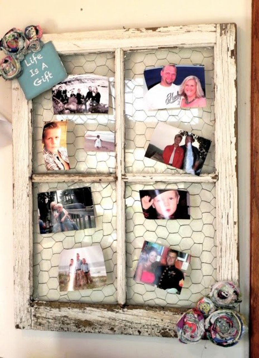 DIY Creative Ways to Repurpose and Reuse Old Windows as ...