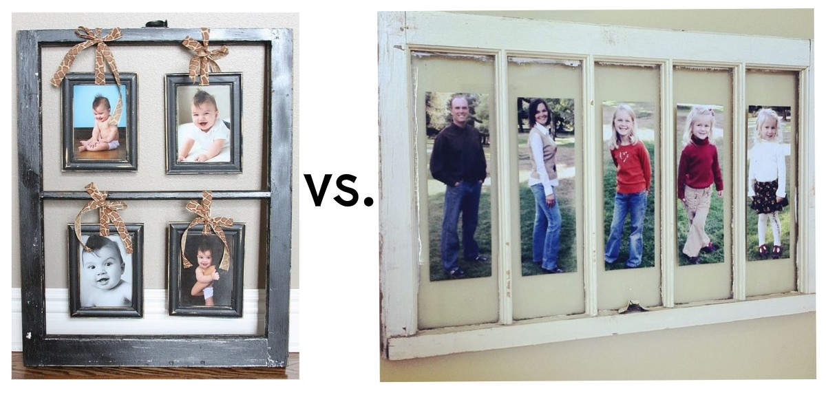 Creative Ways to Repurpose Old Windows Into DIY Picture Frames ...
