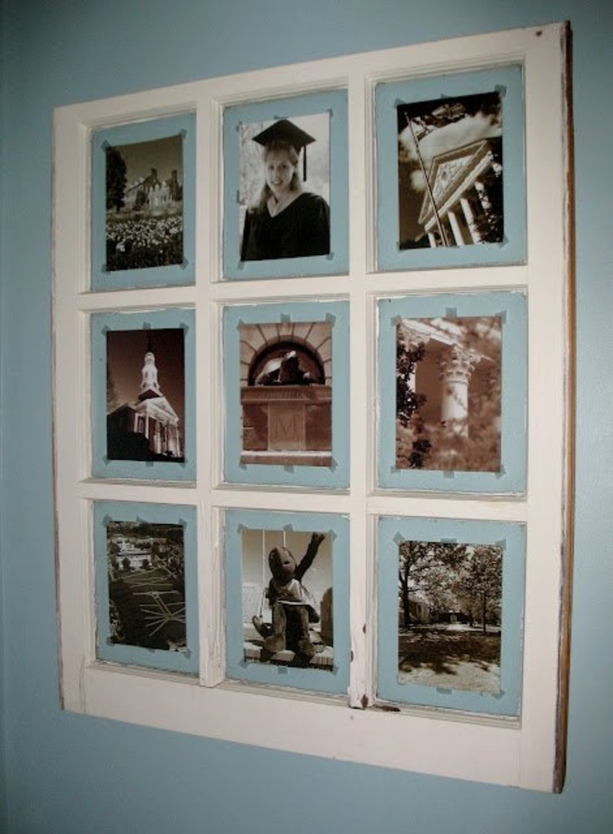 Diy creative ways to repurpose and reuse old windows as for Creative window designs