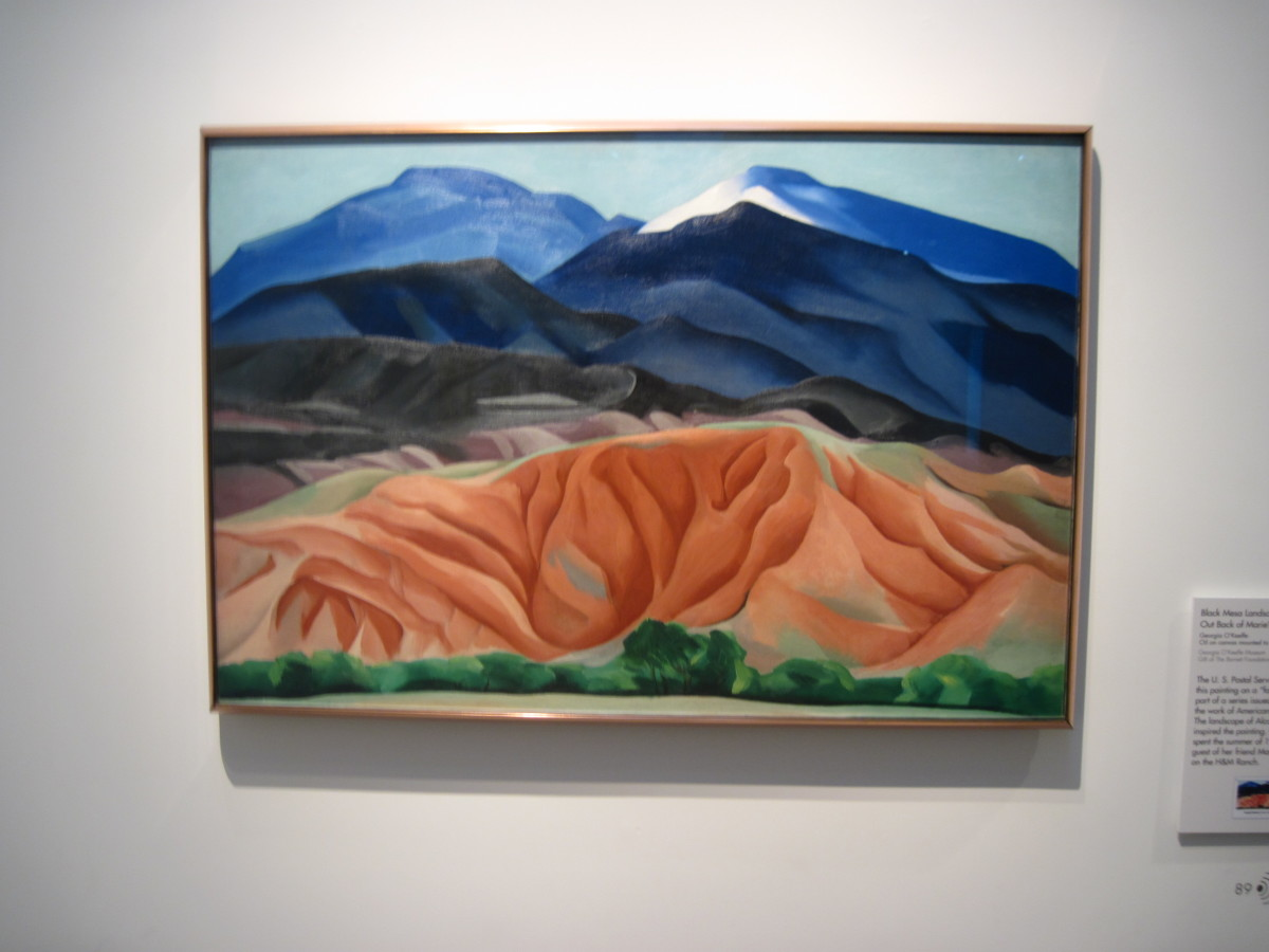 Painting by Georgia O'Keeffe