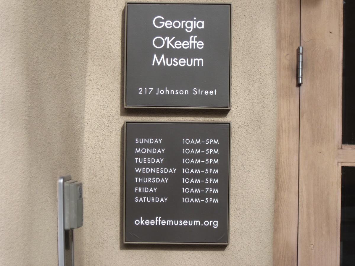 Georgia O'Keeffe Museum Information