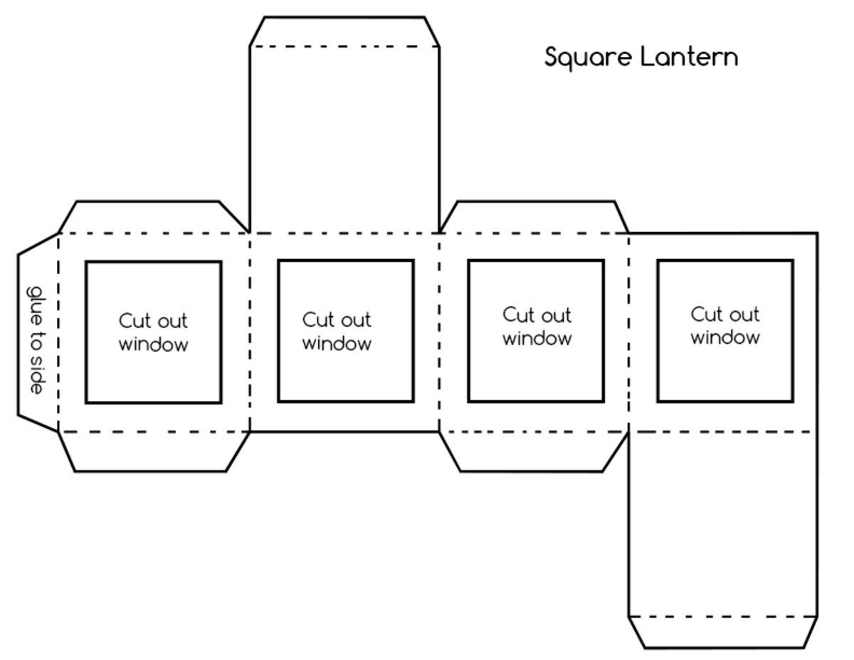 Right click and download box pattern.