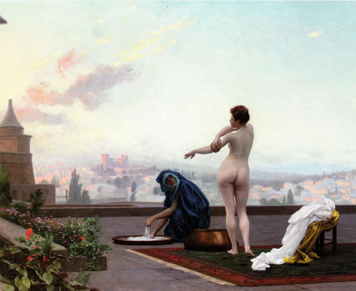 Painting of Bathsheba