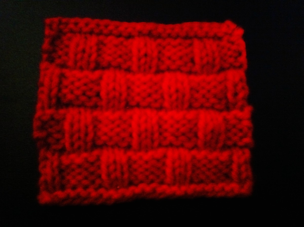 Knit this awesome coaster and make a coaster set for anyone in your life!