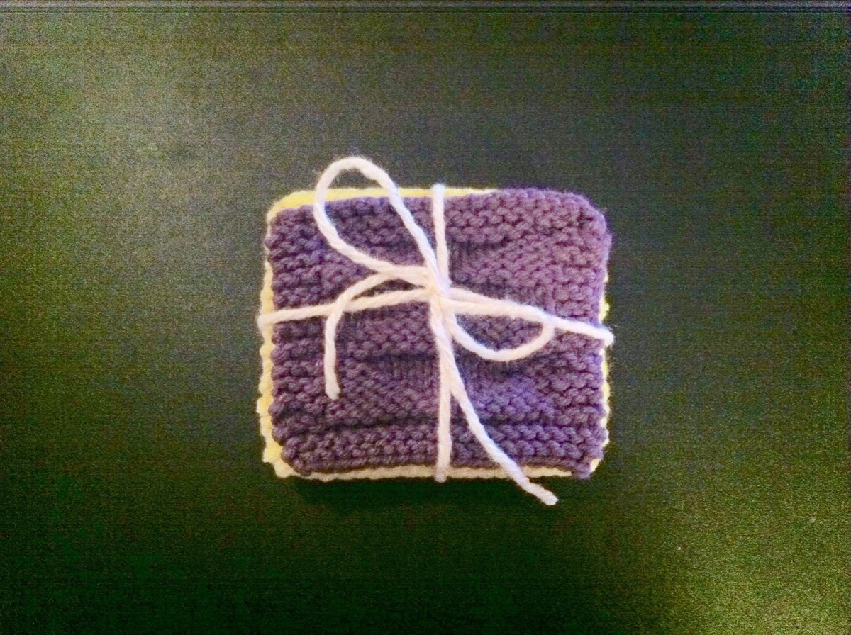 Tie a ribbon to make a beautiful set, and give it away as a great homemade gift!