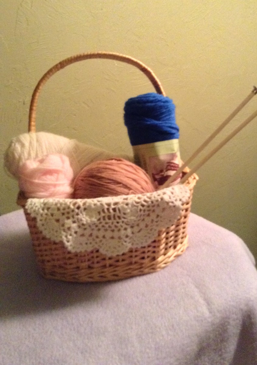 Make sure all of your knitting supplies are handy when you start a project so you don't have to stop once you get rolling!
