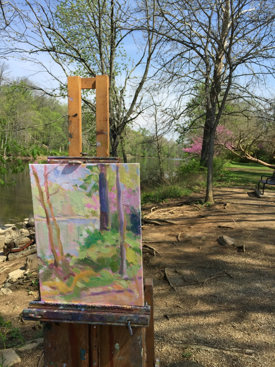 Mother color painting demo by Joe Lombardo. Follow link to see Lombardo's website.