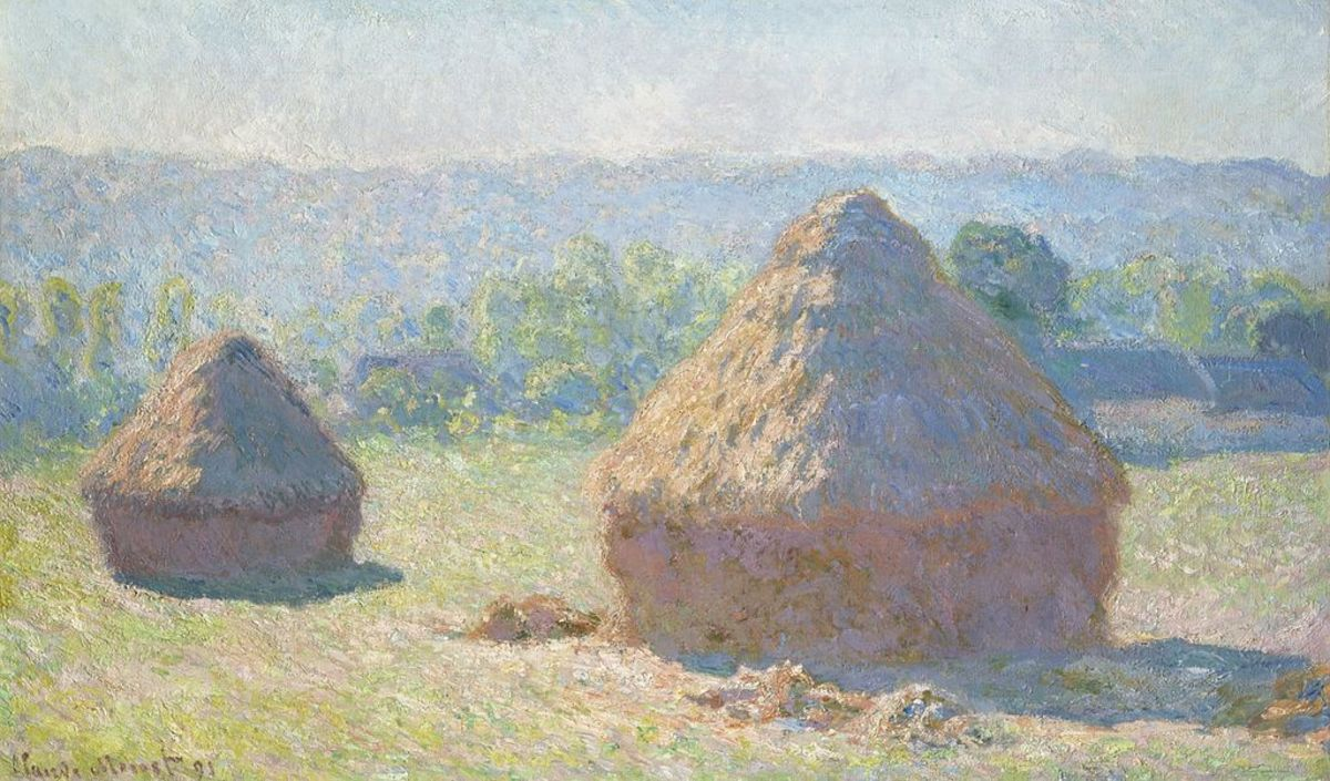Haystacks, end of Summer - Monet, 1891