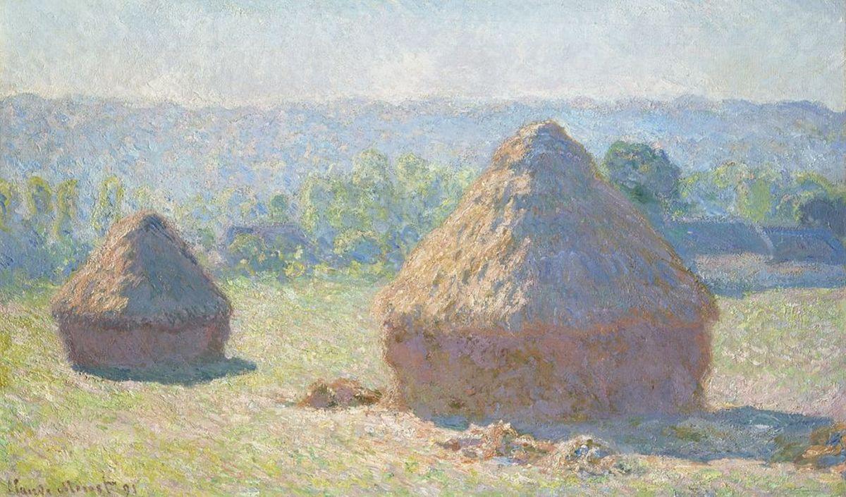 Haystacks, end of Summer - Monet, 1891