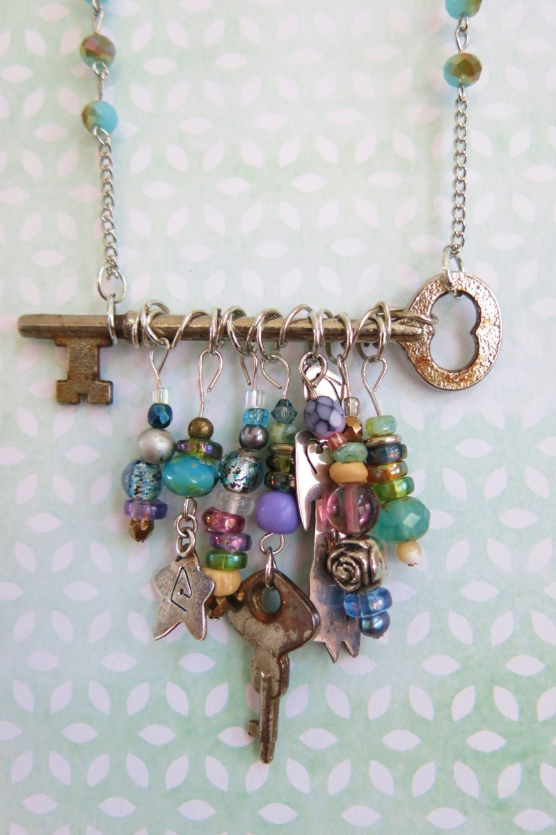 Diy Jewelry Tutorial How To Make A Necklace With A