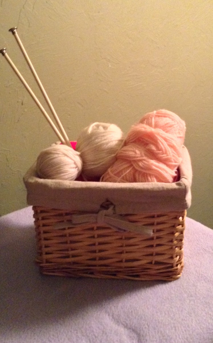 Use your knitting supplies to make something beautiful today!