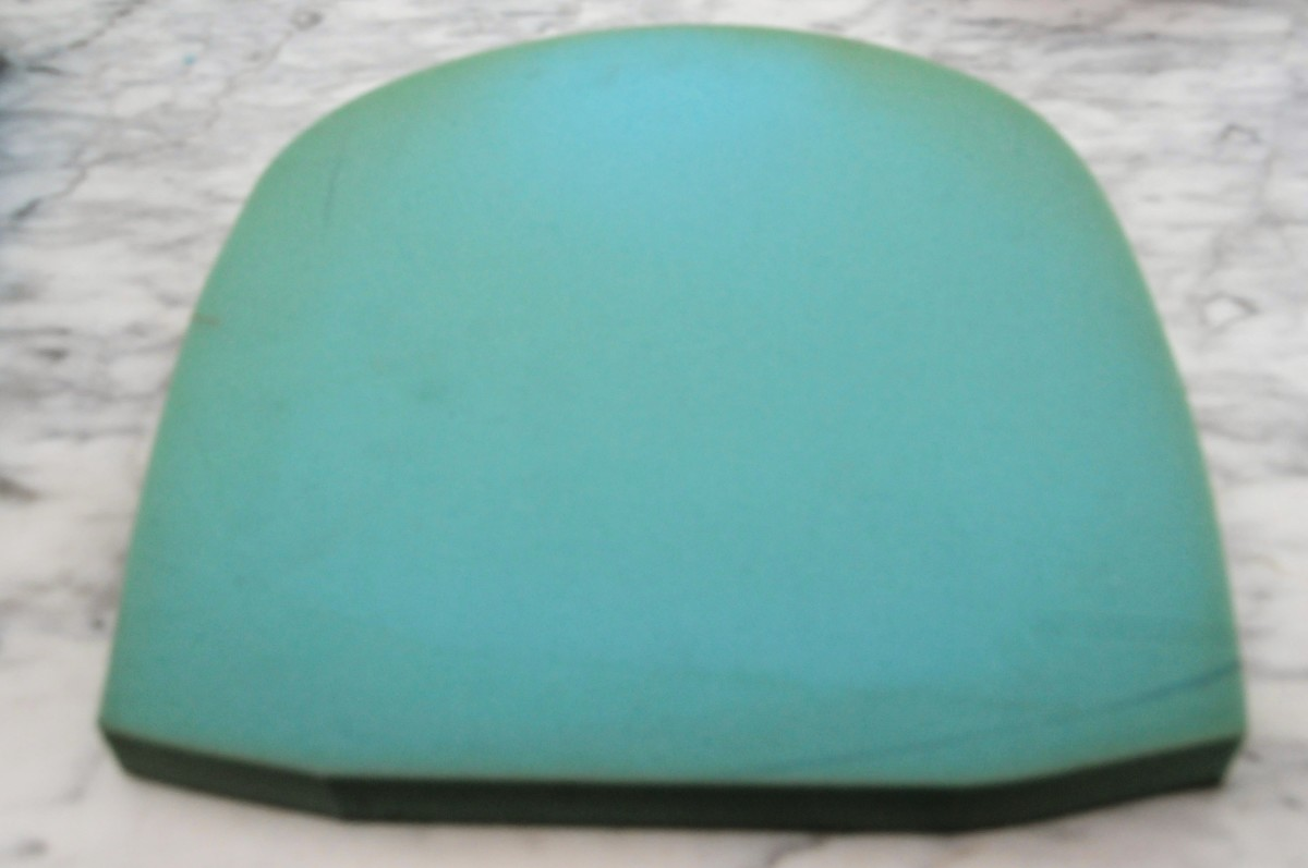 Recycled foam seat cushion