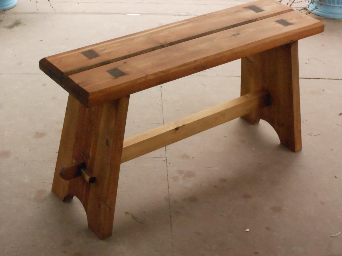 Astonishing How To Build A Strong Mortise And Tenon Bench Feltmagnet Machost Co Dining Chair Design Ideas Machostcouk
