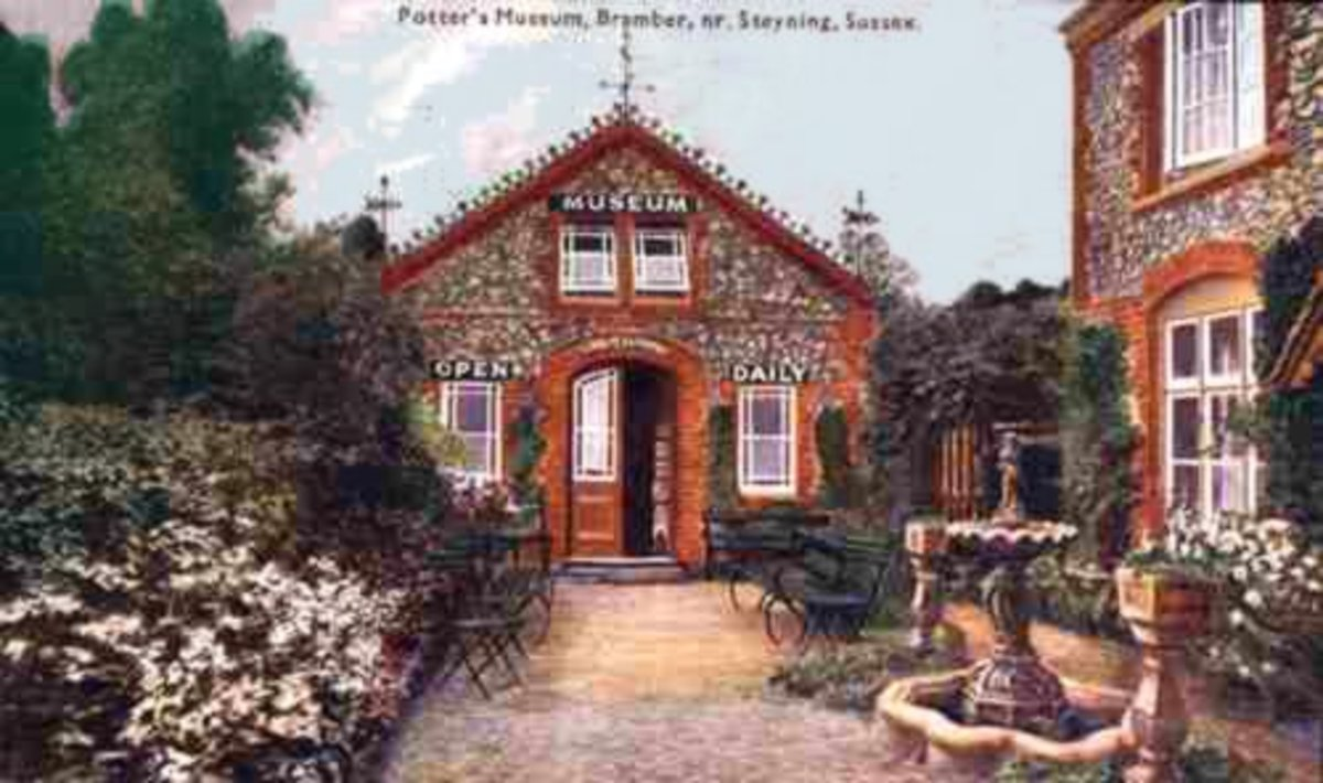 Painting Of Potter's Brammer Museum