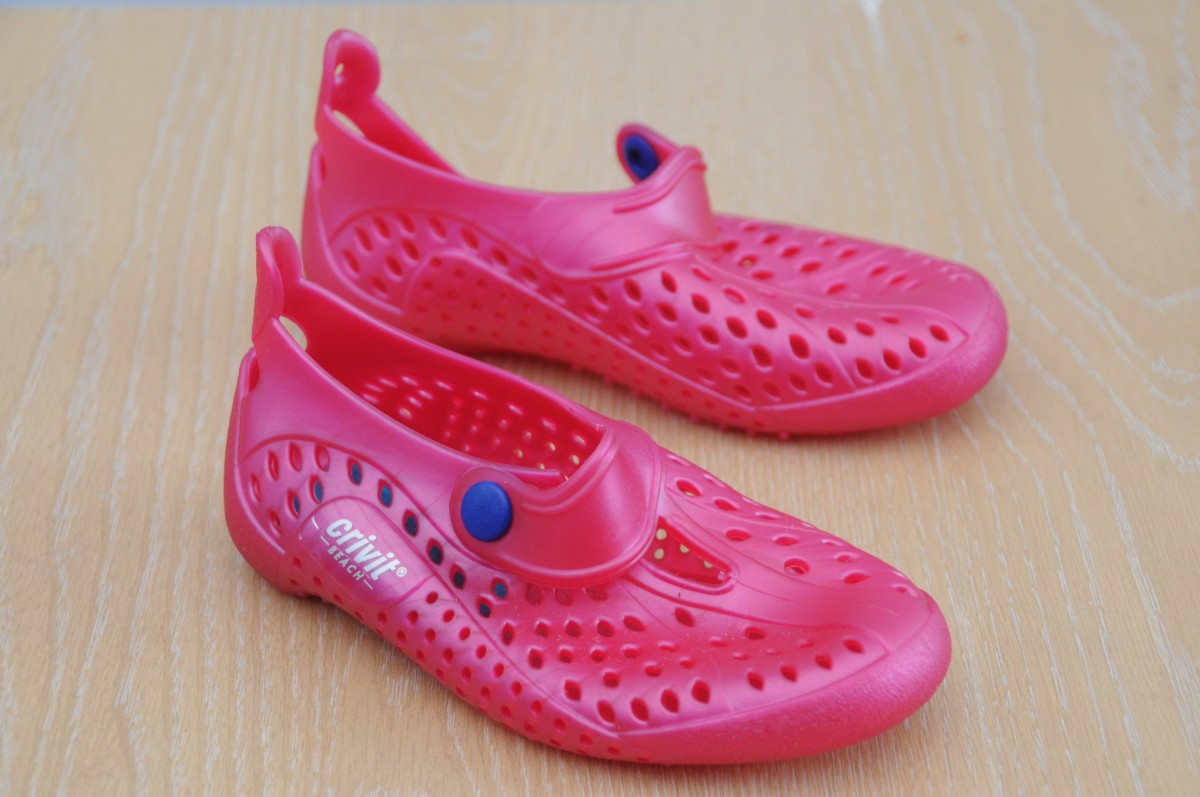 The Jelly Shoes should perfectly into the recycled Shoe Soles