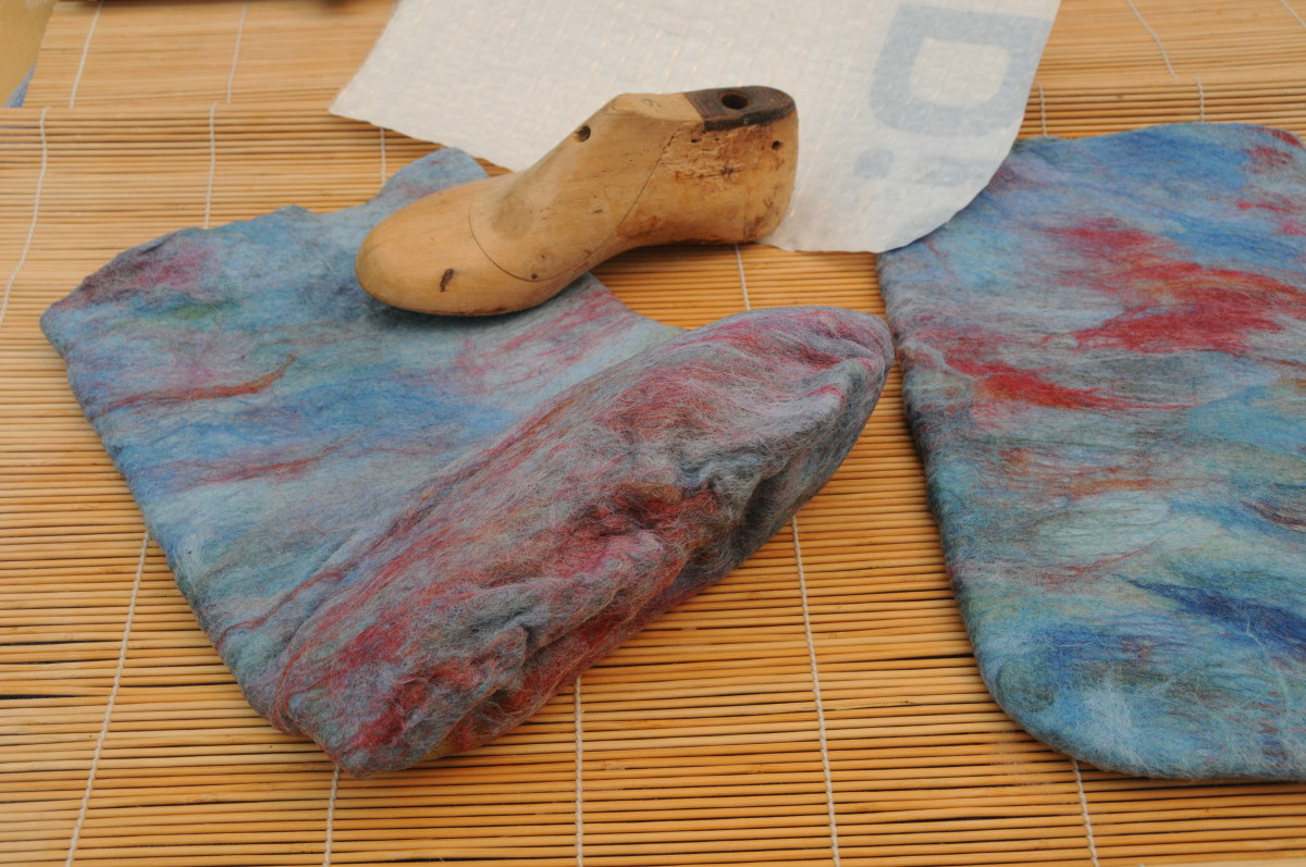 A wooden shoe last and the Project