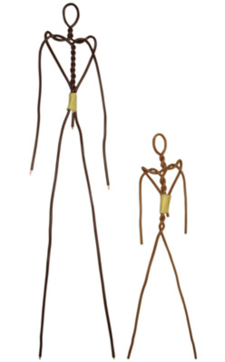 Wire armature for the Paverpol figurine