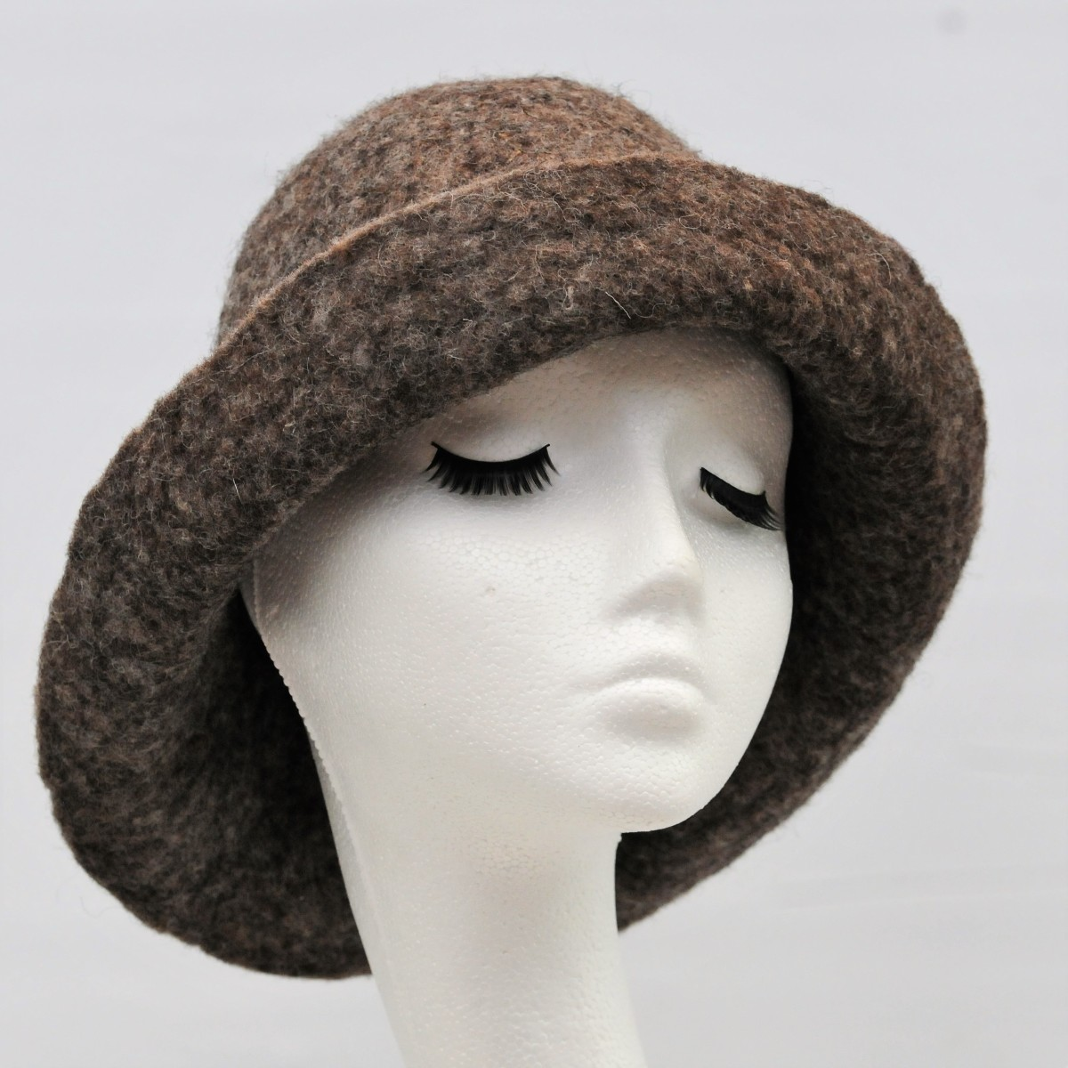Wet Felted Hat