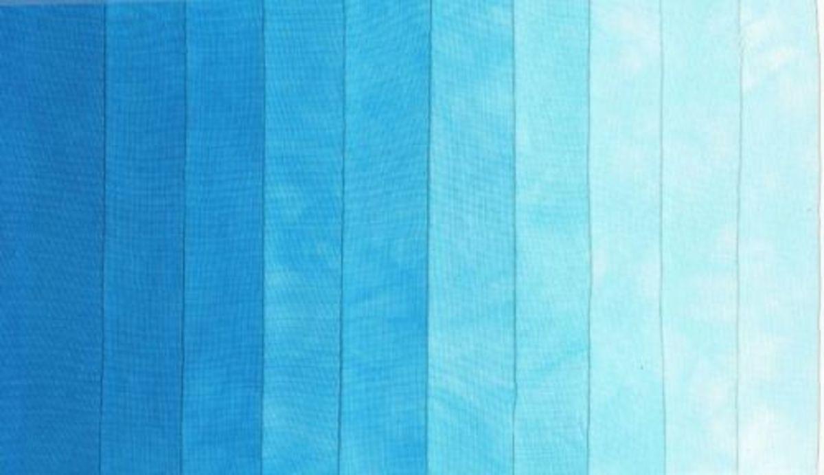 Blue Ombre Palette