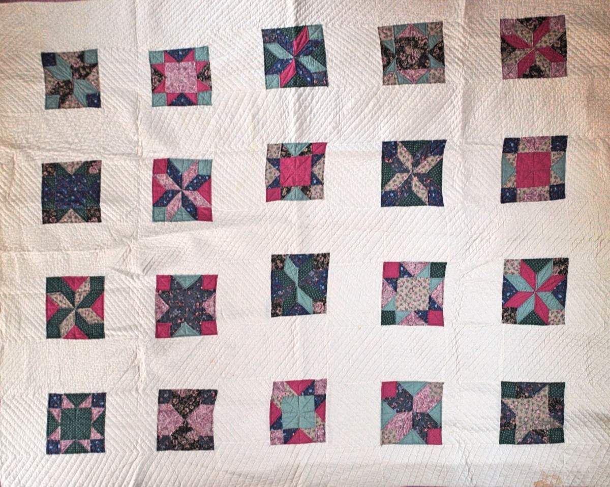 For my very first quilt I made a queen sized one.  It took me over a year.  Look closely and you'll see pretty much every other mistake that is listed in this article too.