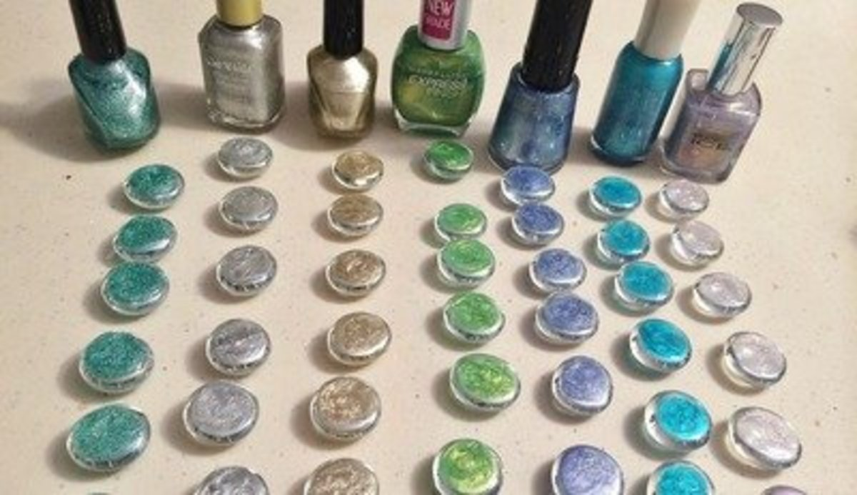 a7dc5e1a1bce 46 Gorgeous Glass Gems Craft Ideas