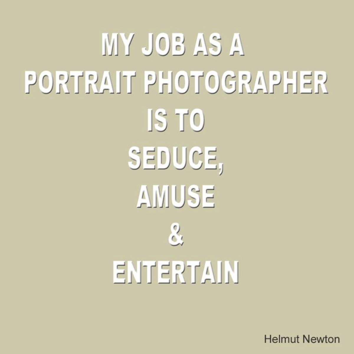 To make money as a photographer you need good people-skills