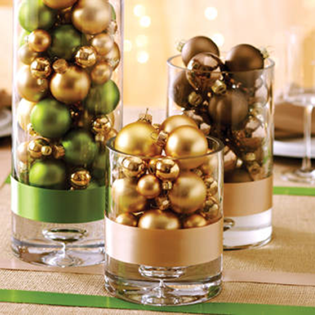 Simply elegant to add sparkle to your most festive table!