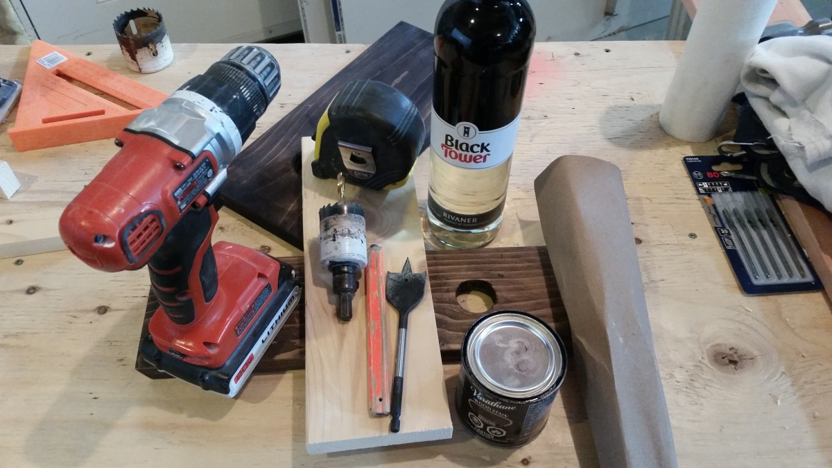 A Few Tools and Materials Needed for This Project