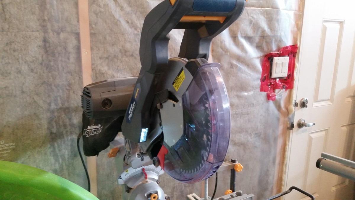 An electric Miter is the way to go if you have one.