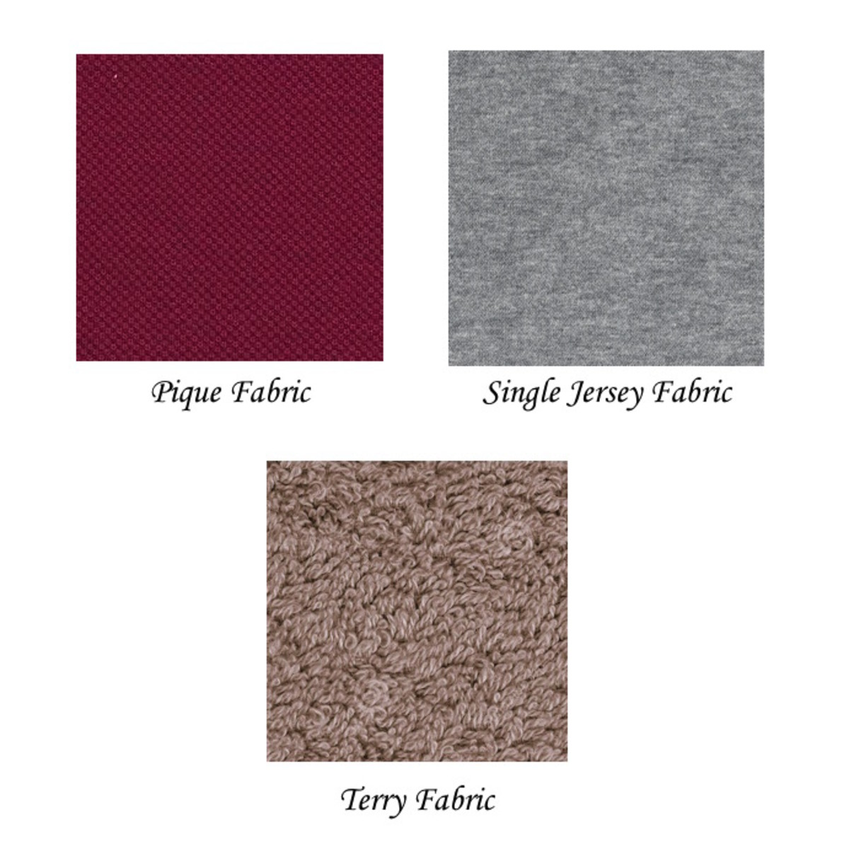 Examples of Knitted Fabrics