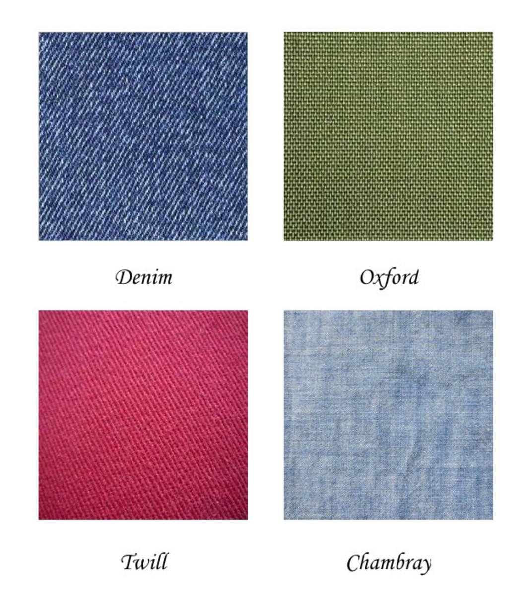 Examples of Woven Fabrics