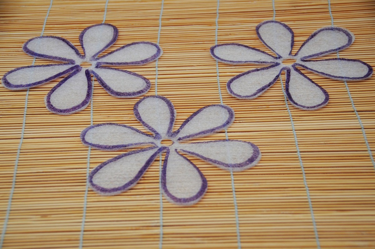 Flower Template Example 1